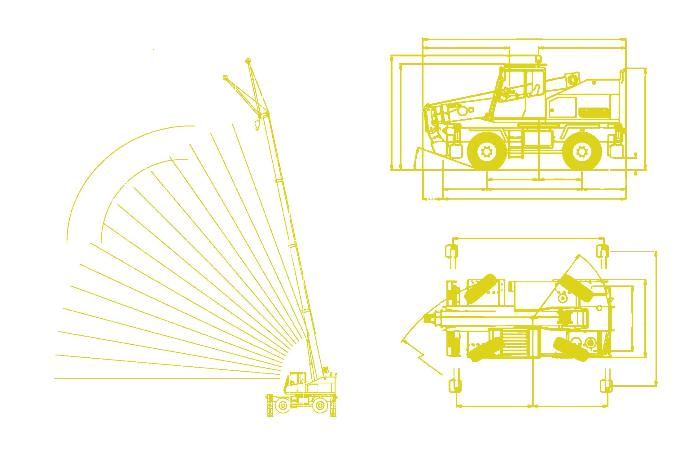 Locatelli - Gril 13.12 Working Envelope and Machine Diagrams